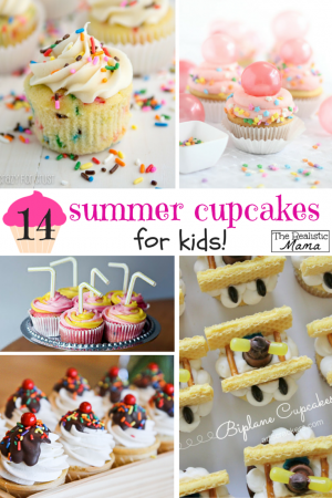 summer cupcakes for kids
