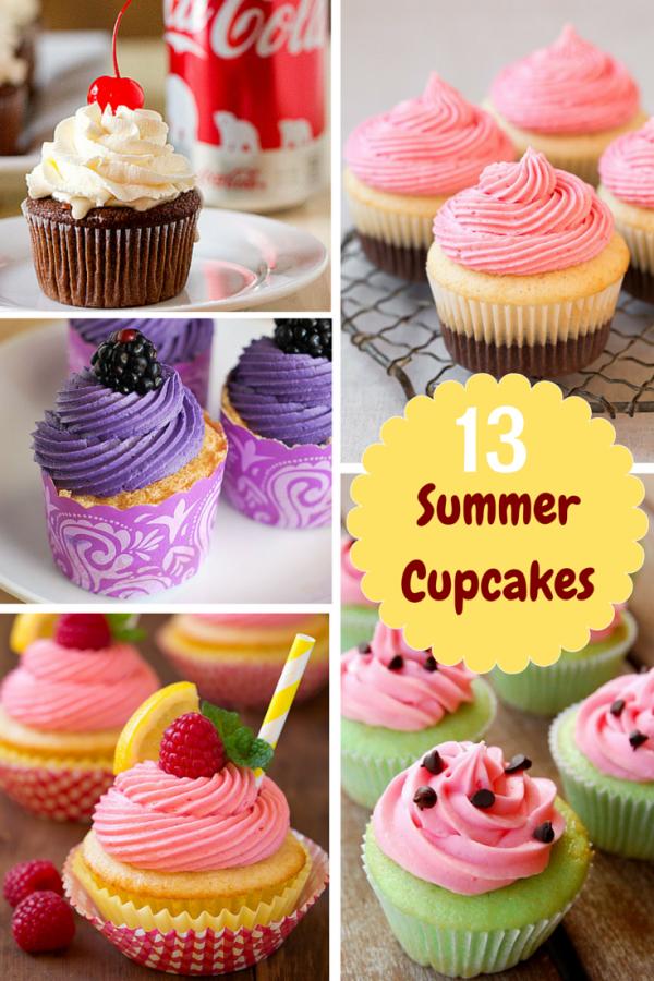 13 Summer Cupcakes