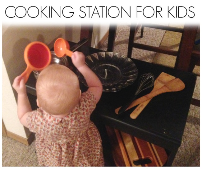 Cooking Station for Kids