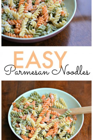 Easy Parmesan Noodles