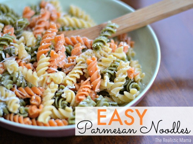 Easy Recipe Parmesan Noodles