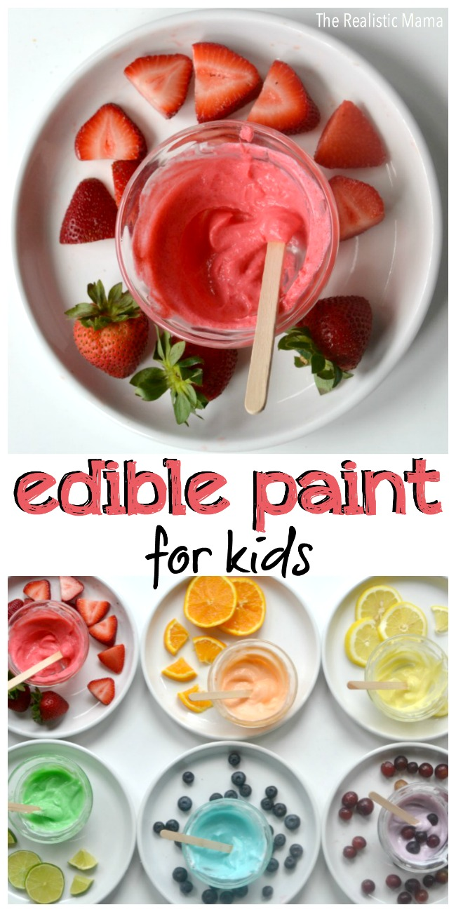 Edible Paint for Kids!