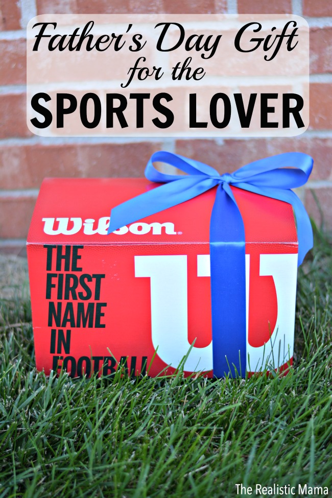 Father's Day Gift Idea for the Sports Lover