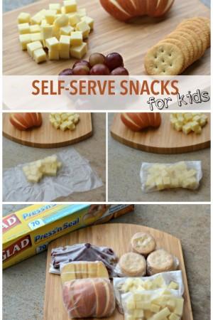 Healthy Self-Serve Snacks for Kids