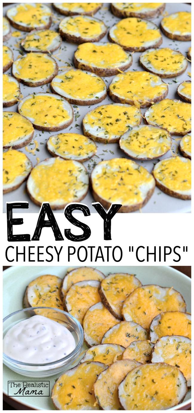 Easy Cheesy Potato Chips