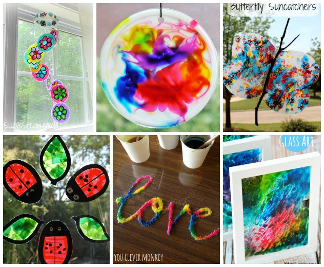 15 Colorful Suncatcher Crafts For Kids