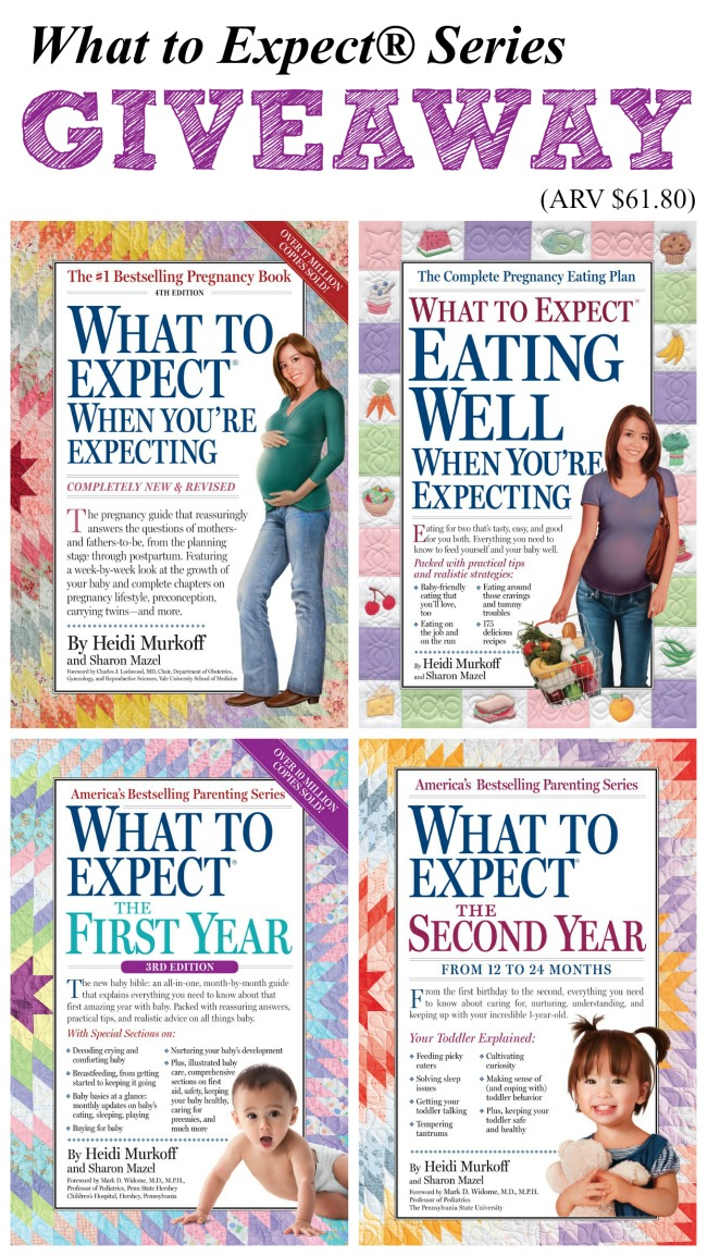 What to Expect® Series Giveaway
