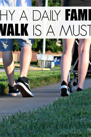 Why a family walk is a must. The benefits might surprise you!