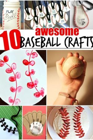 10 Awesome Baseball Crafts