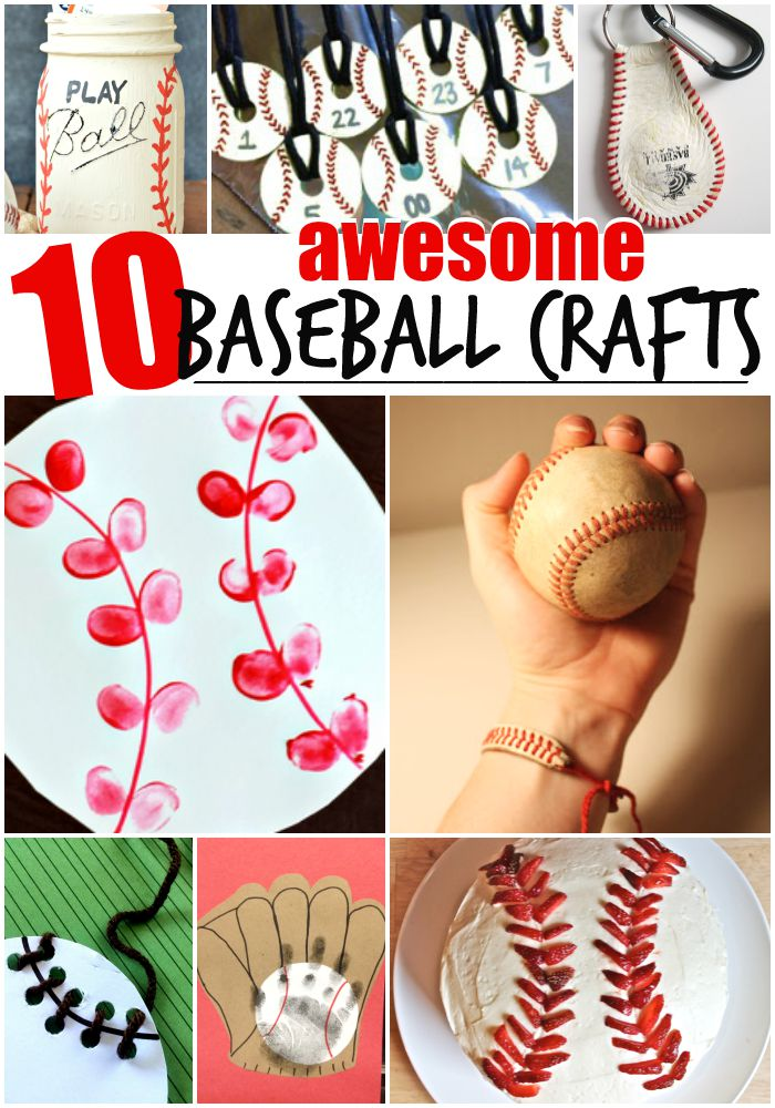 10 Awesome Baseball Crafts