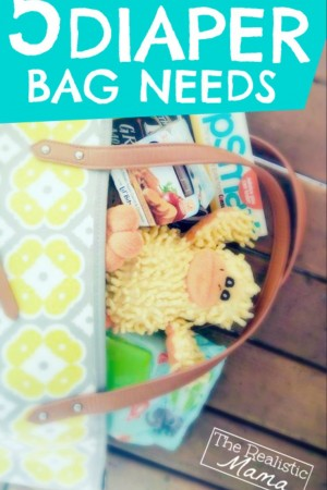 5 Things Ever Diaper Bag Needs