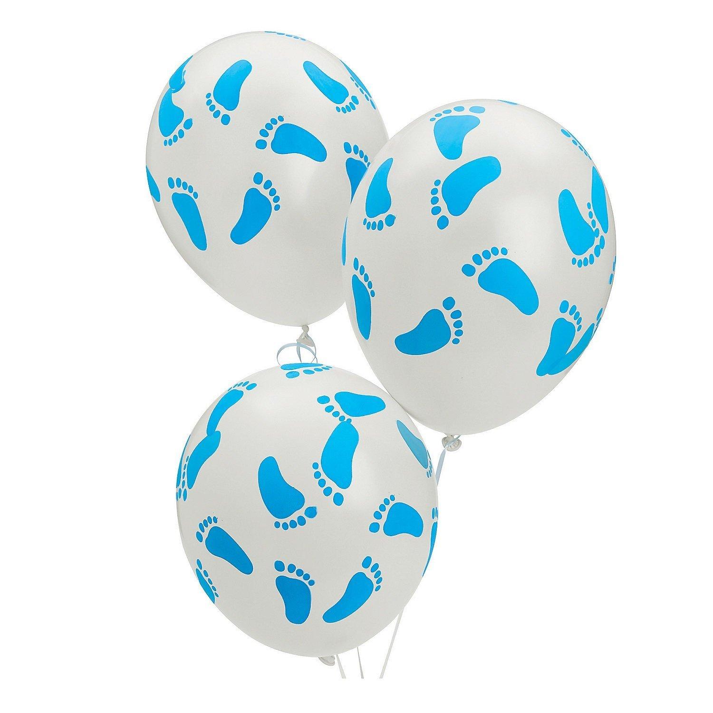 Baby Footprint Balloons