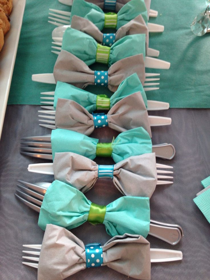 Bow Tie Table Decorations