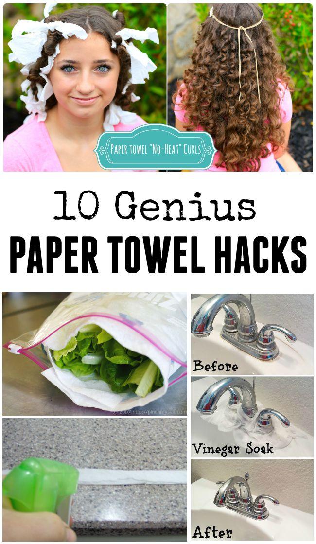 Genius Paper Towel Hacks