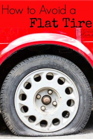 How to Avoid a Flat Tire