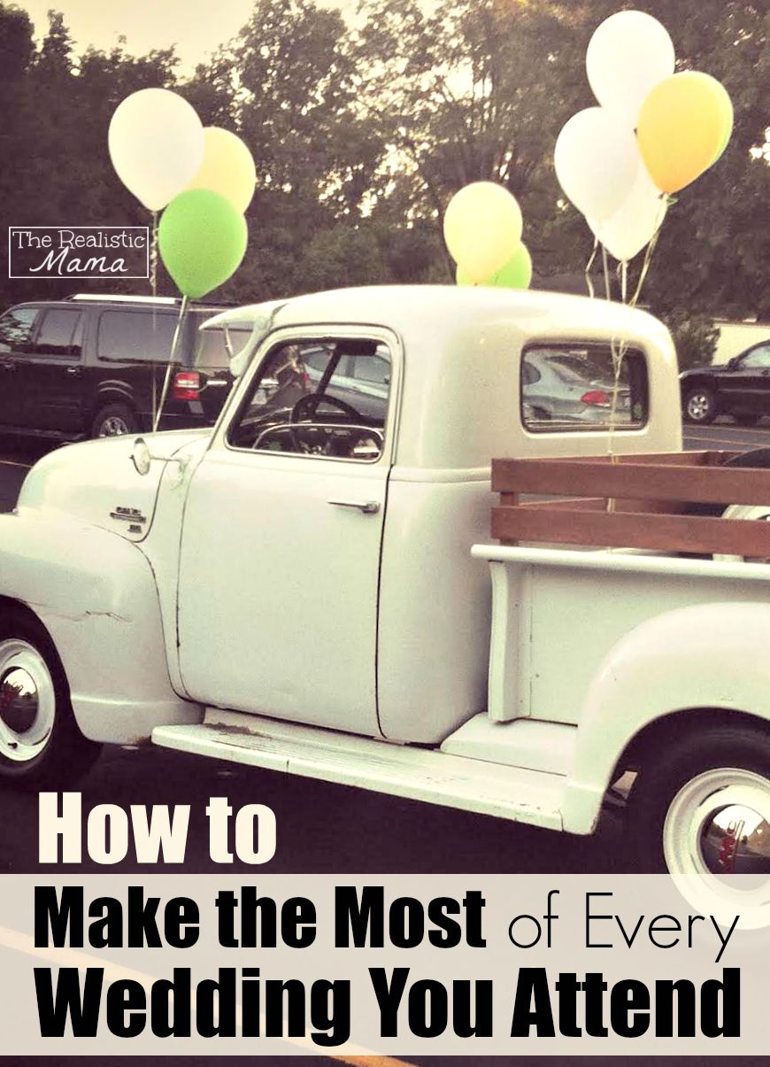 How to Make the Most of Every Wedding You Attend!