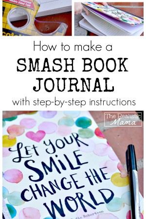 How to make a Smash Book journal. You will never go back to a regular journal again.