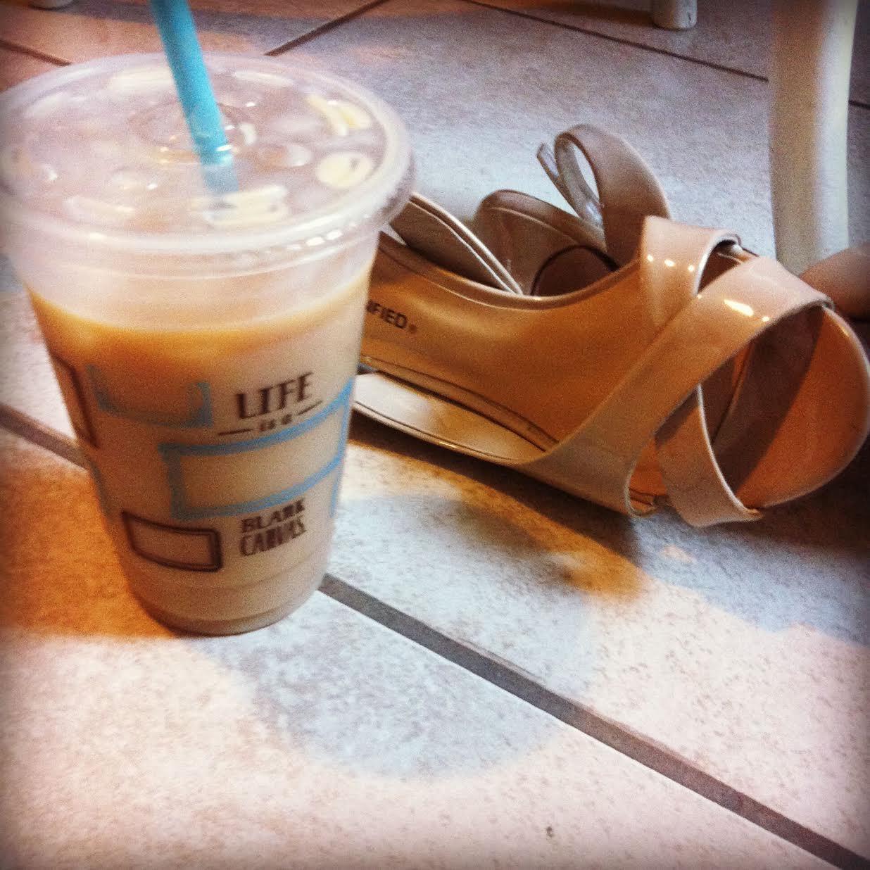 Wedding Heals and Coffee