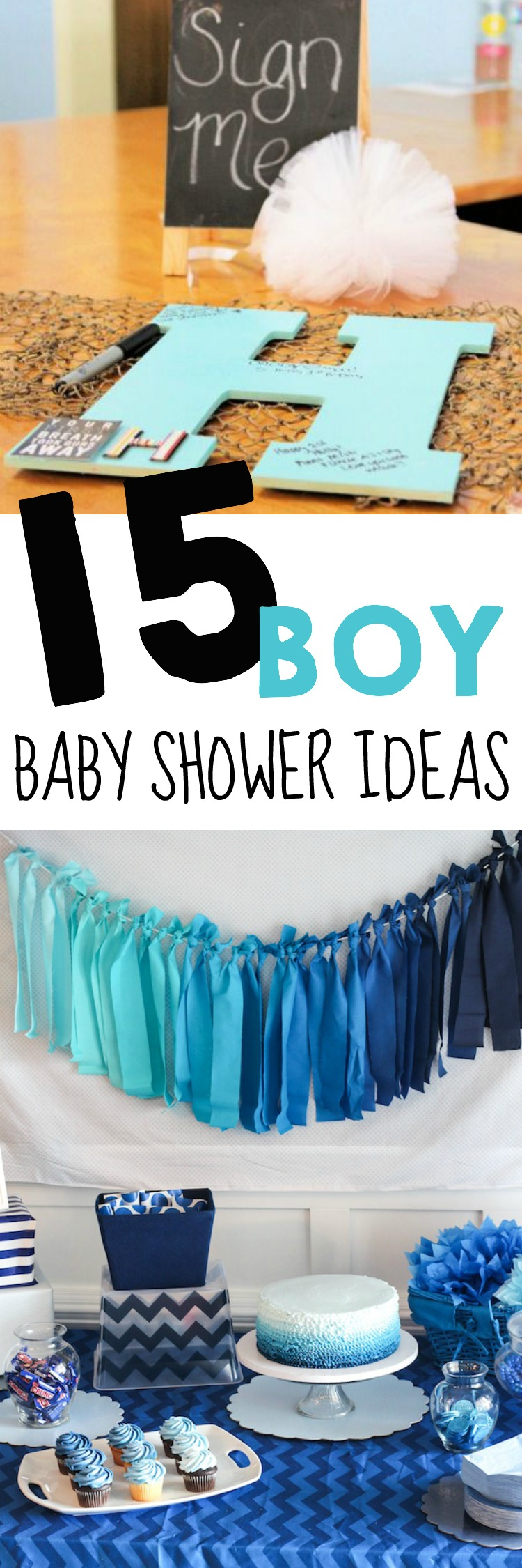 baby shower ideas for boys : 15 boy baby shower ideas