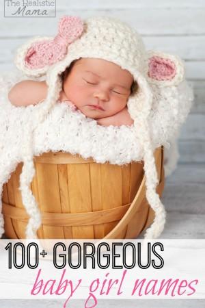 100 Gorgeous Baby Girl Names