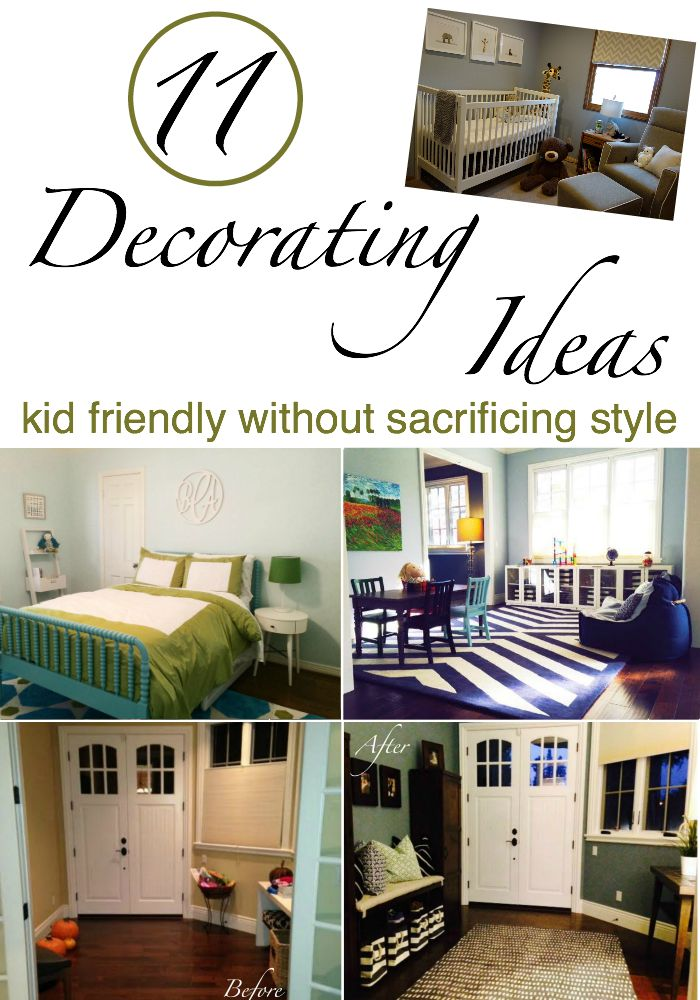11 Kid Friendly Decorating Ideas