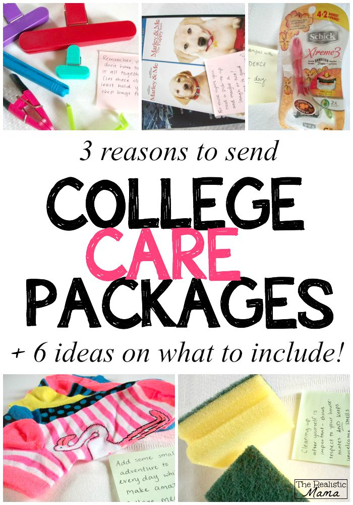 3 Reasons To Send A College Care Package Today The Realistic Mama