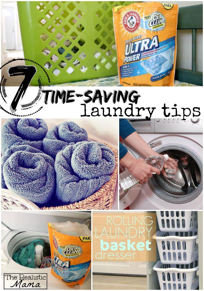 7 time-saving laundry tips