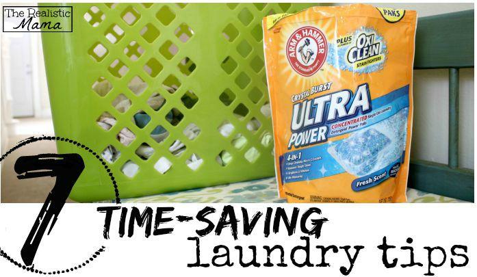 7 time-saving laundry