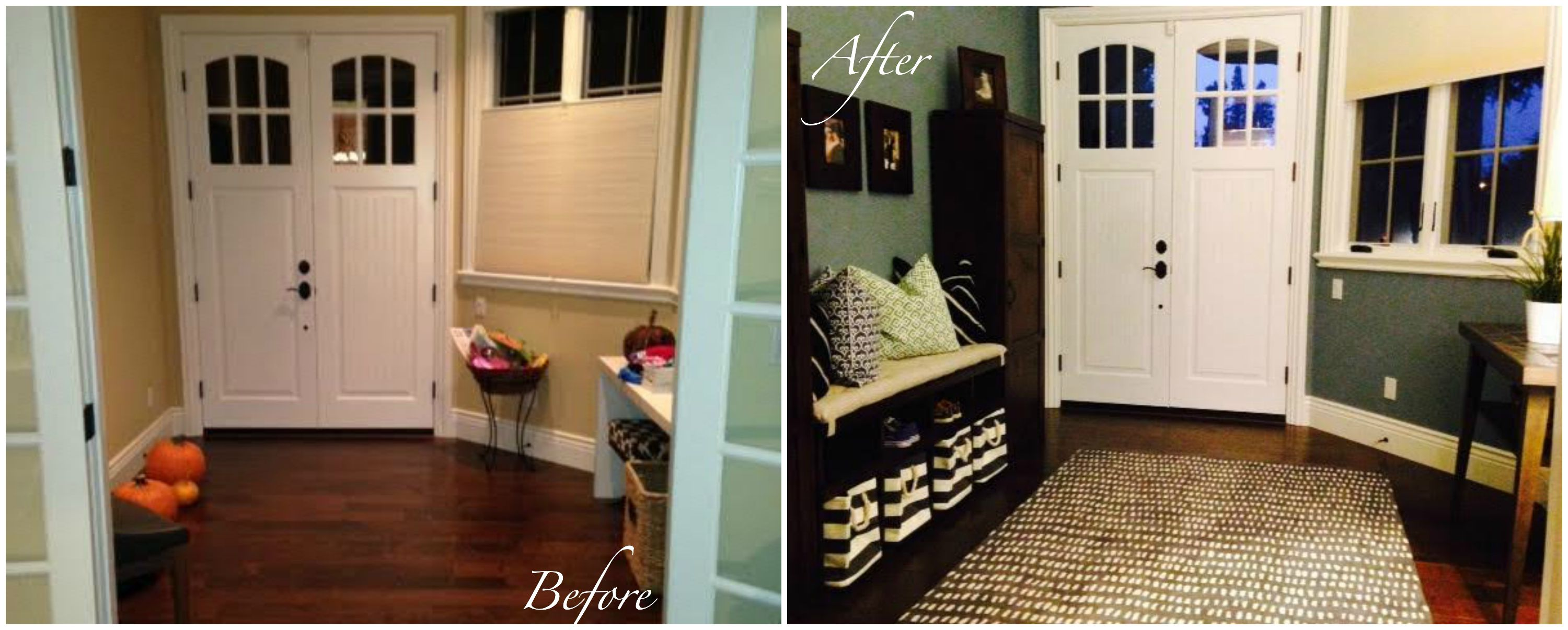 Before & After Entry