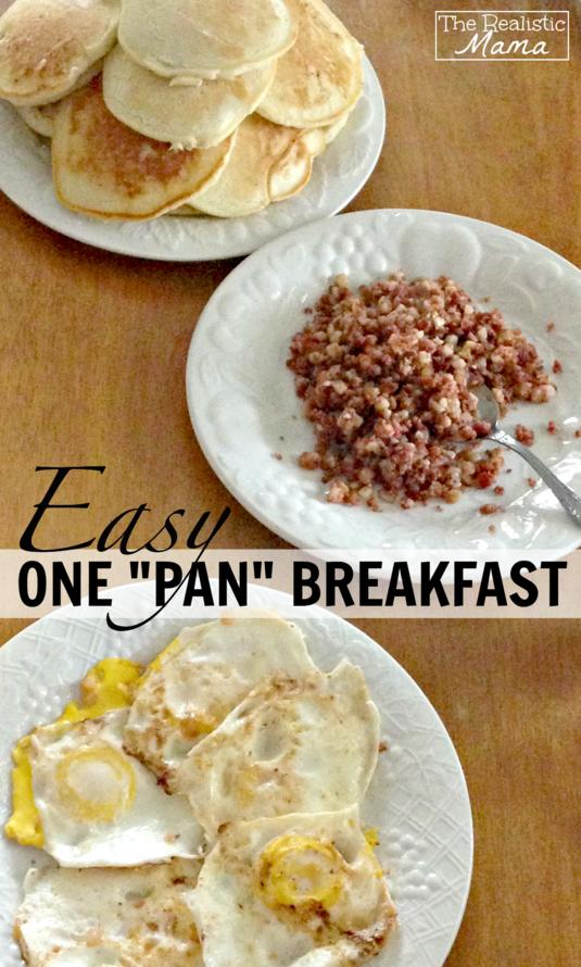 Easy One Pan Breakfast