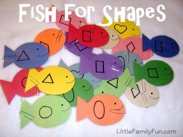Fishing Shape Game
