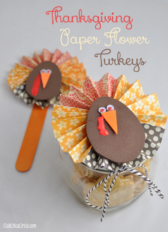 How-to-Make-a-Thanksgiving-Paper-Flower-Turkey
