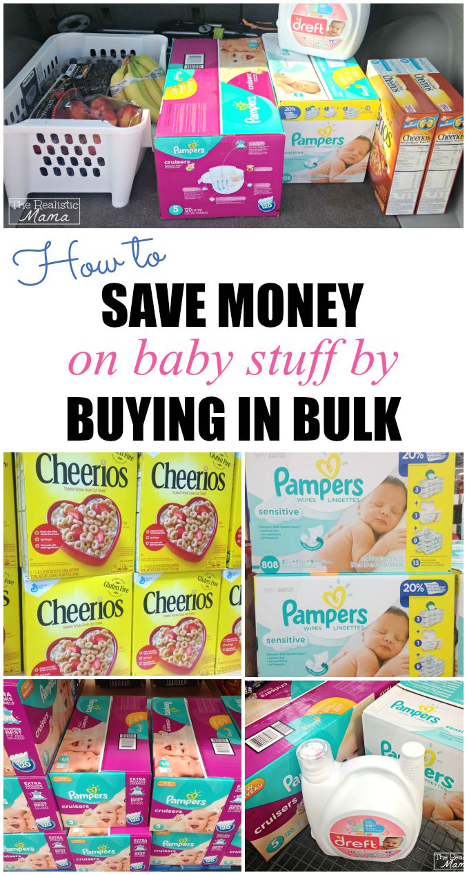 How to Save Money on Baby Stuff