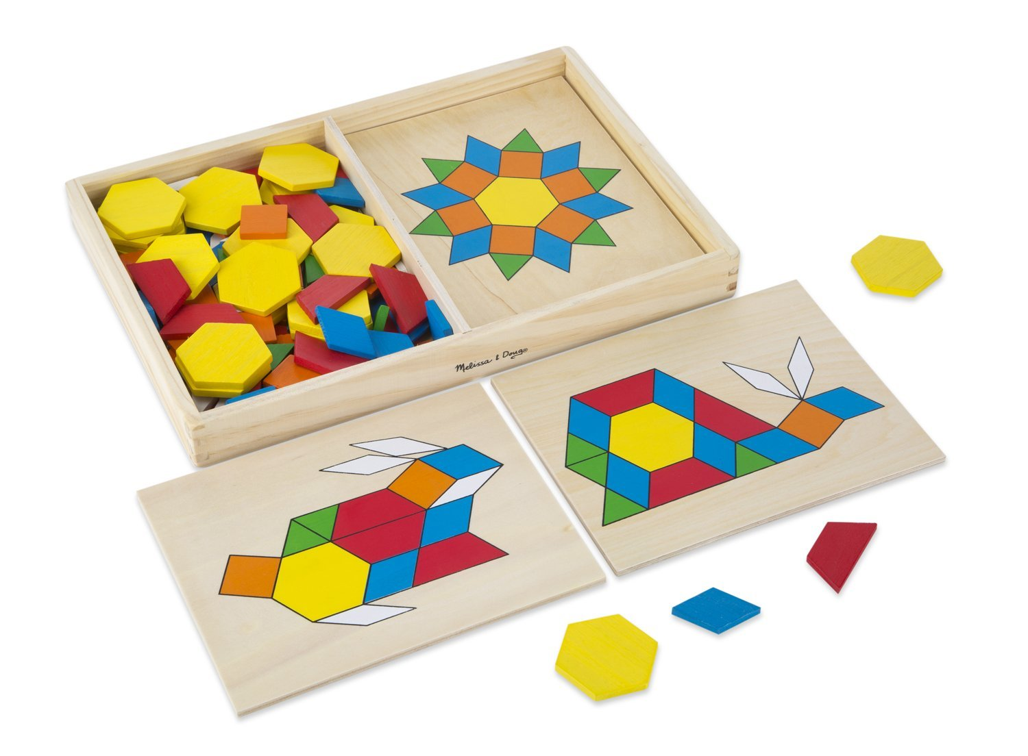 Pattern Blocks and Boards for Learning Shapes