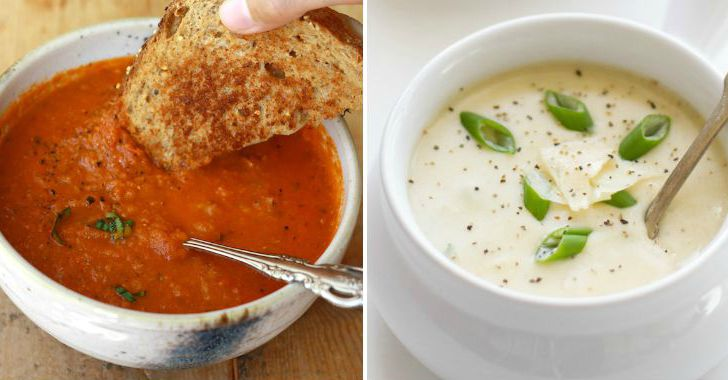 Winter Soup Recipes FB