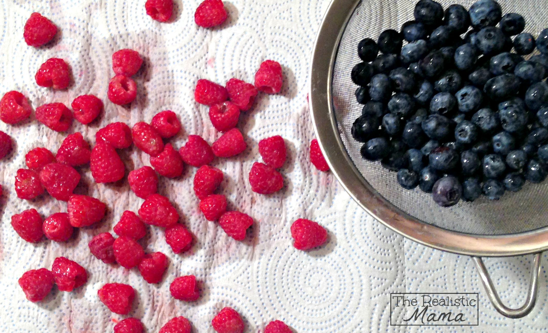 Yum! Washed Berries