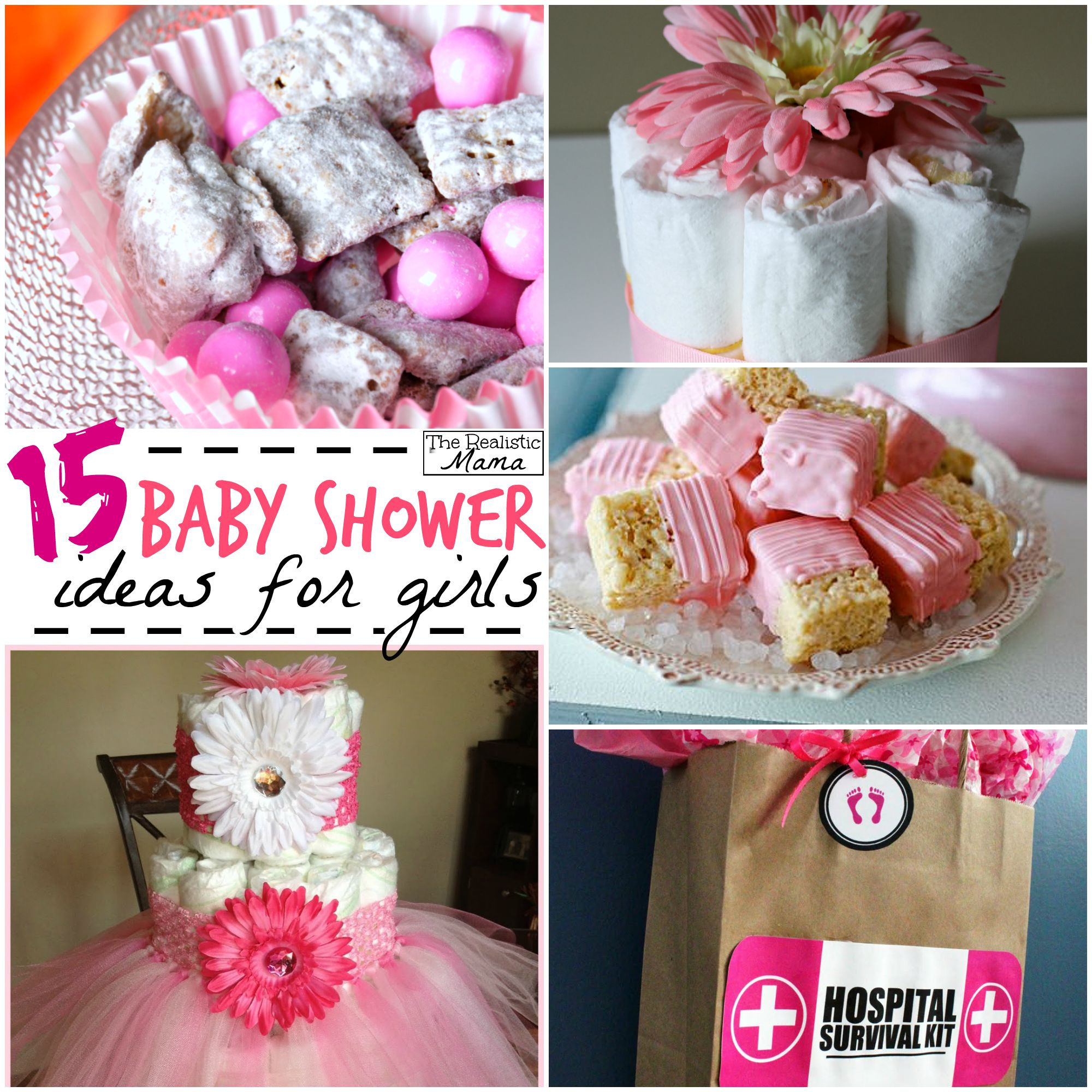baby shower ideas for girls  the realistic mama, Baby shower