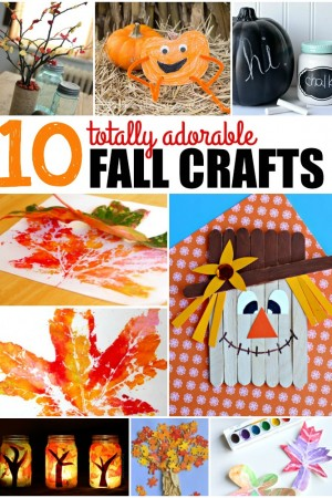 10 Adorable Fall Crafts