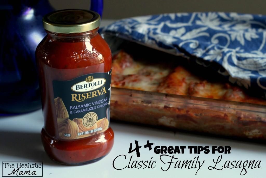 classic family lasagna recipe