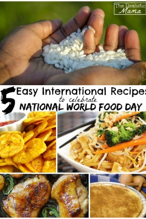5 Easy International Recipes for Kids