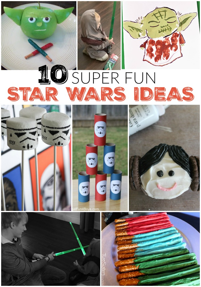 10 Super Fun Star Wars Ideas