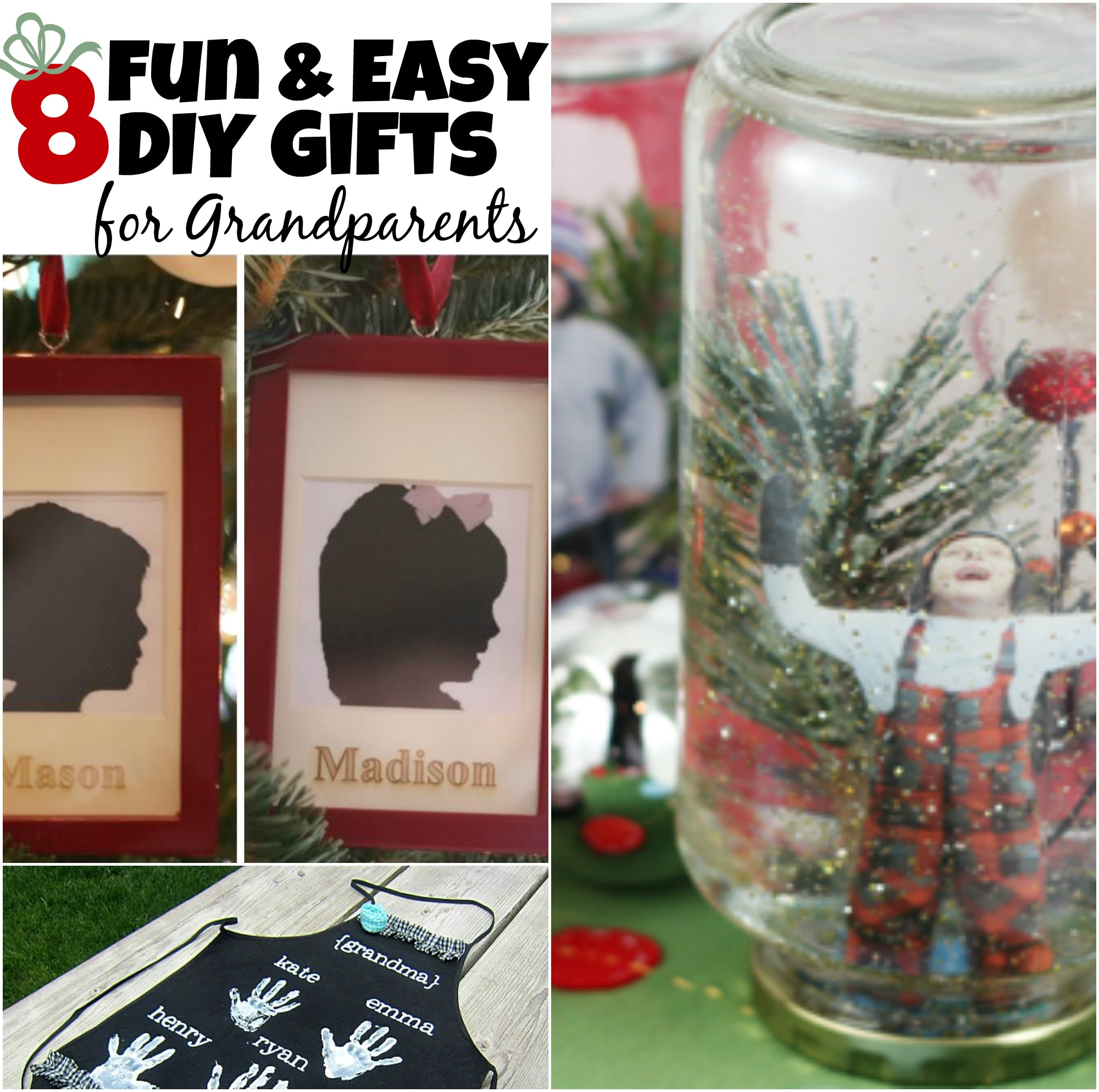 8 Diy Gifts For Grandparents The Realistic Mama