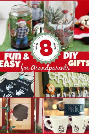 DIY gifts for grandparents