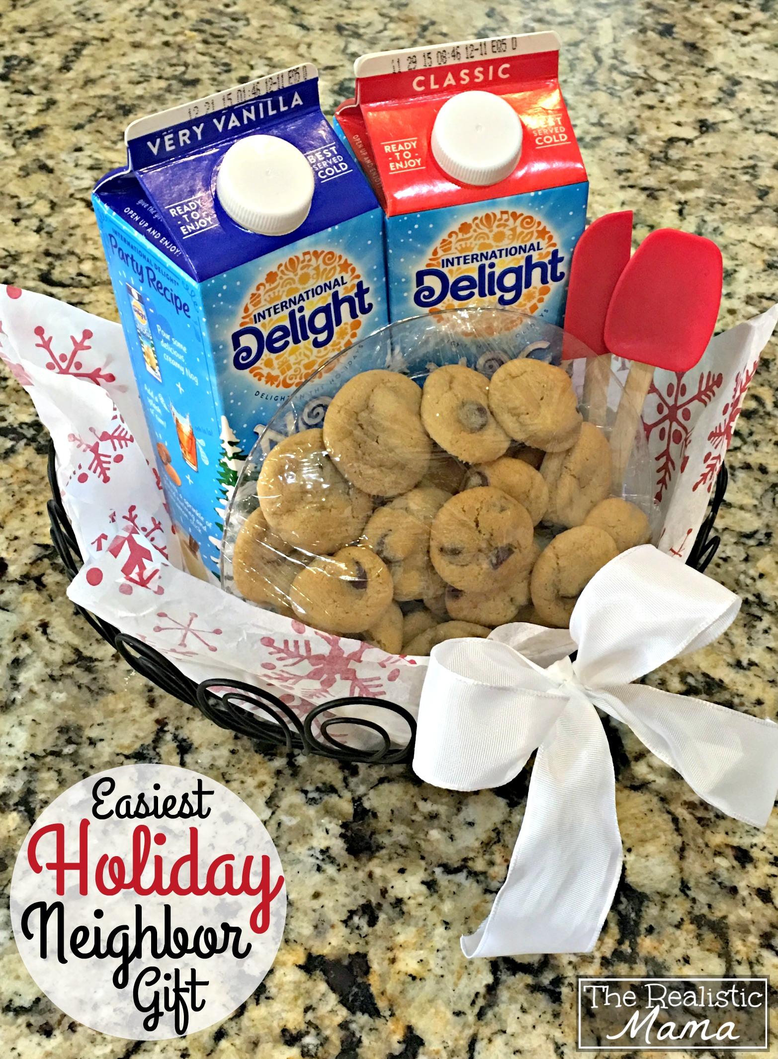 Easiest Holiday Neighbor Gift
