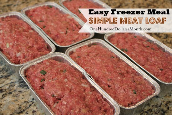 Easy-Freezer-Meal-Simple-Meat-Loaf-