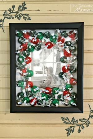 DIY Kisses Frame