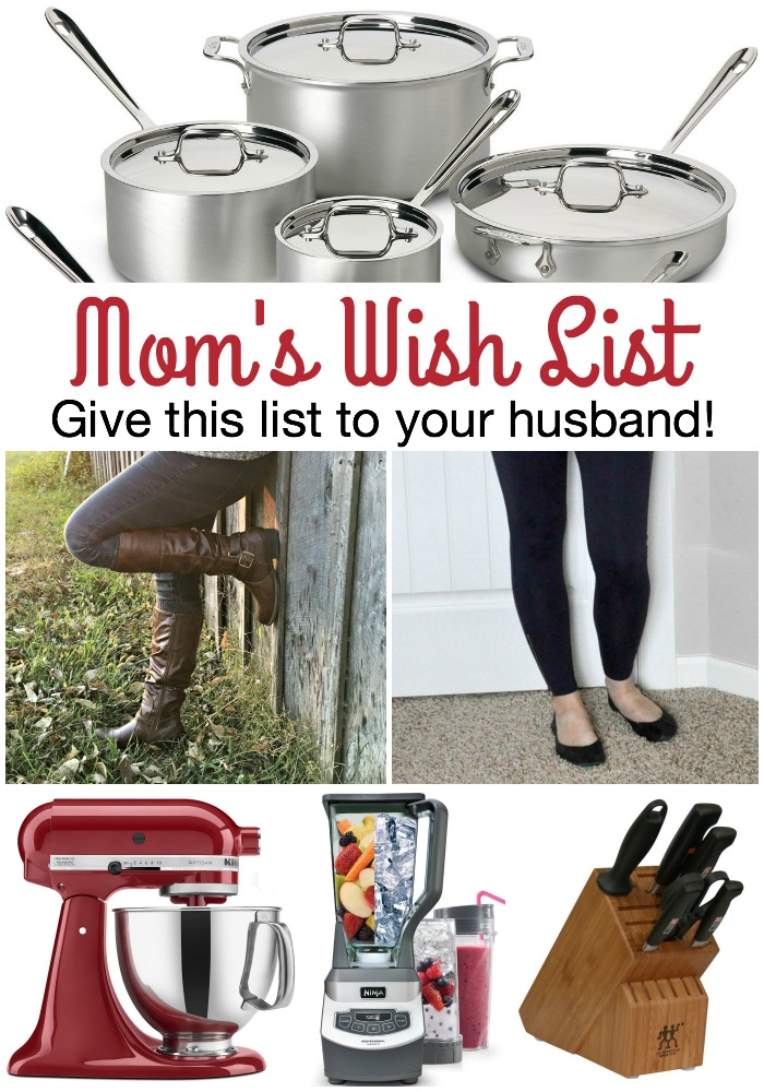 Mom's Wish List