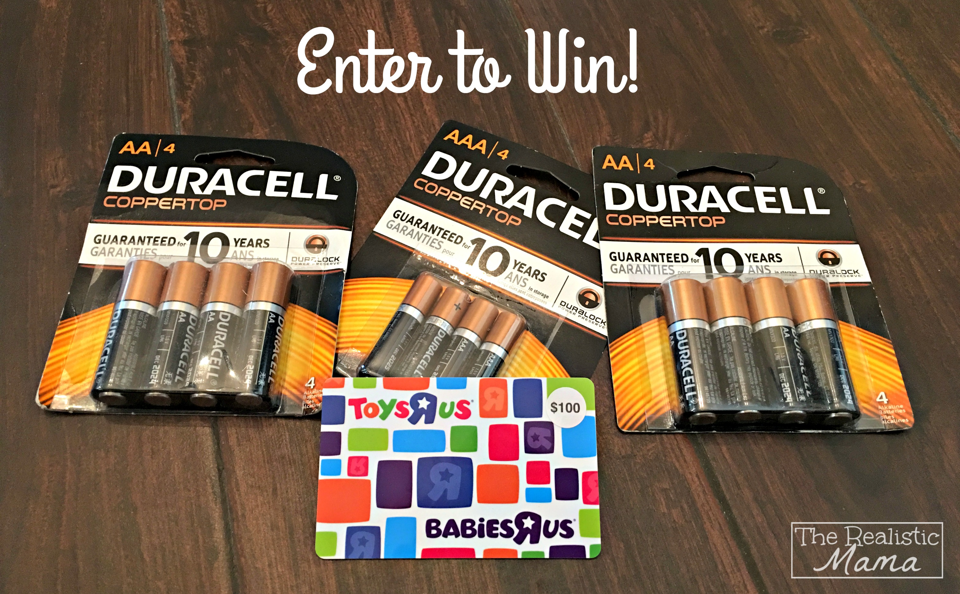 Prize Package Duracell