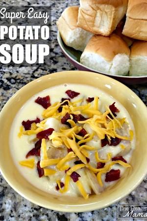 Super Easy Potato Soup