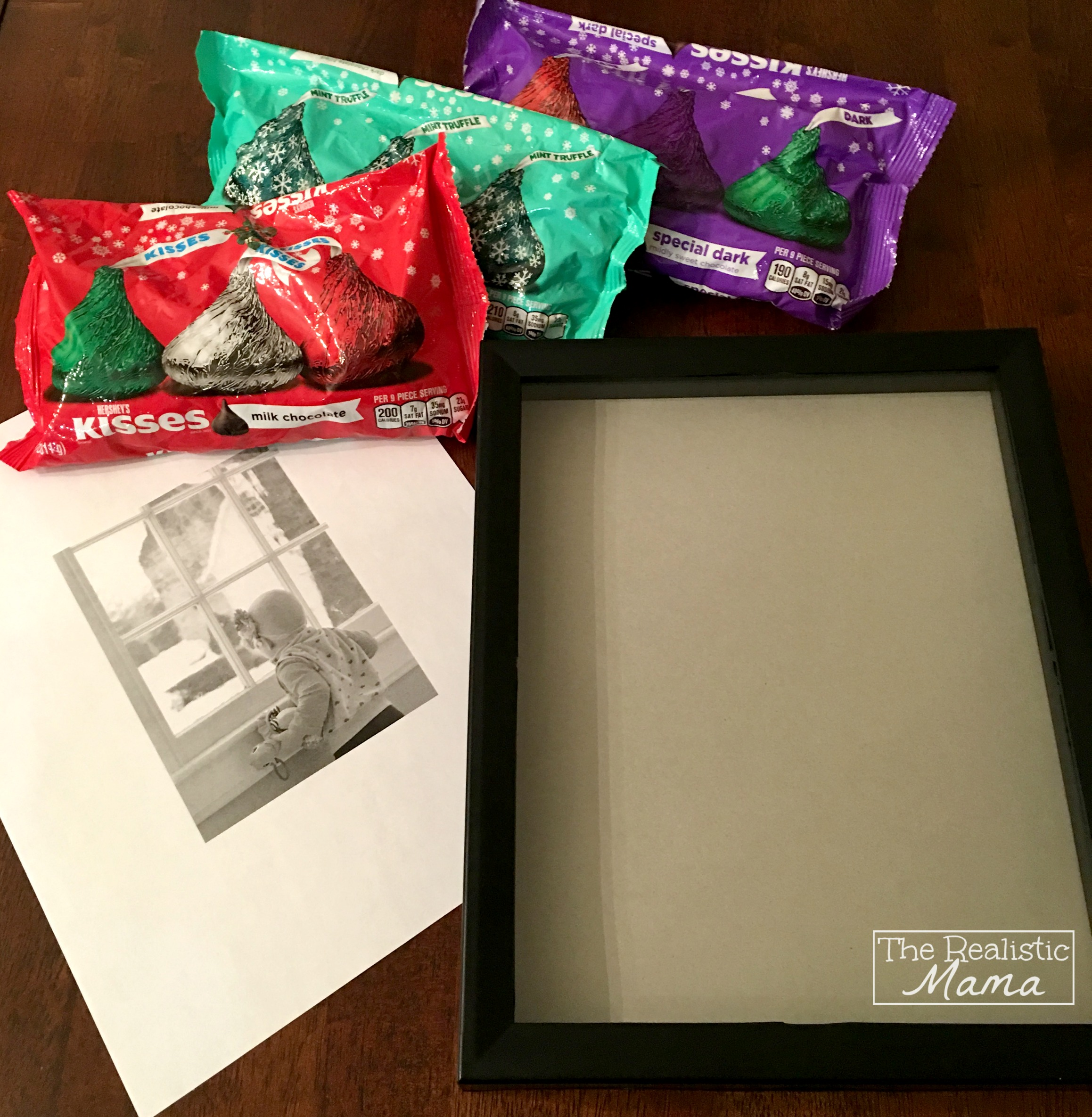 Supplies for DIY Frame